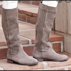 Sole Society Kellini Suede Tall Boots